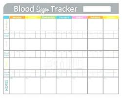 Blood Glucose Log Sheet Printable Blood Sugar Levels Chart Template Diabetes Alert Level Blood