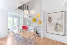 custom metal wall art dining room modern with white wall yellow glass artwork wood dining table on modern wall art for dining room with custom metal wall art dining room modern with yellow glass artwork