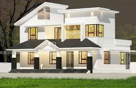 1667 Square Feet 4 Bedroom Modern Double Floor Home Design And Plan