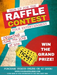 Raffle Ticket Poster Template 100 Customizable Design Templates For Raffle Postermywall
