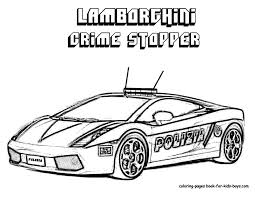Police Car Coloring Pages Printable Only Coloring Pages