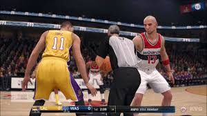 NBA Live 18 - Washington Wizards vs Los Angeles Lakers - Gameplay (HD)  [1080p60FPS] - YouTube