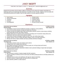 Resumes For Customer Service Jobs Best Sales Customer Service Advisor Resume Example Livecareer