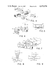 patent us4679978 wheel lift towing assembly google patents patent drawing