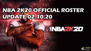 NBA 2K20 OFFICIAL ROSTER UPDATE 02.10 ...