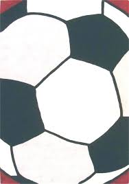 soccer ball rug sports themed area