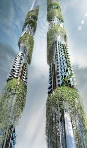 famous architecture in the world. #36 Taiwan Towers In Express The Interest For Need Of Greenery Modern Cities Famous Architecture World I