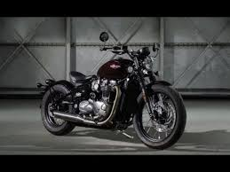 2018 triumph bonneville bobber with new look youtube