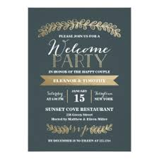 welcome party invitation wording wedding welcome party invitations announcements zazzle