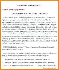 Marketing Contract Template Free With 7 Marketing Contract Template ...