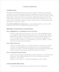 Self Introduction Letter For A Job Sample Introduction