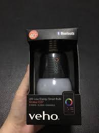 Veho Kasa Smart Lighting Veho Kasa Bluetooth Smart Lighting Led Screw Cap E27 Bulb