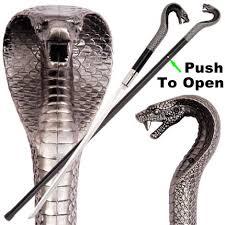 cobra head profile. Simple Head Pushbutton King Cobra Head Sword Cane KA2028 Intended Profile D
