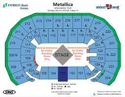Intrust Arena Seating Chart Best Picture Of Chart Anyimage Org