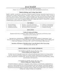 Medical Billing And Coding Resume Sample Best of Medical Billing Resumes Samples Fdlnews