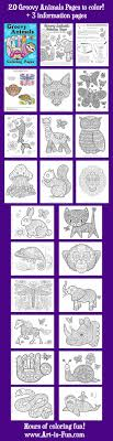 Small Picture Groovy Animals Coloring Pages Animal Coloring books and Adult