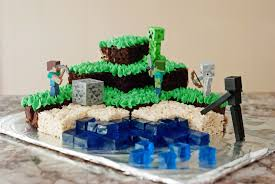 minecraft cake recipe. Unique Cake Minecraft Cake Chocolate U0026 Swiss Meringue Buttercream On Recipe B