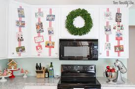 Kitchen Christmas Christmas In The Kitchen Warm And Cozy Christmas Home Tour The