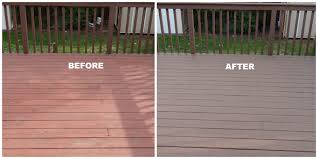 repainting a painted deck