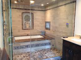 Glass Enclosed Showers big bathtub behind glass doors with enclosed shower builtin tv 3869 by xevi.us