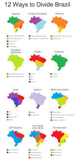 Map Maps Iguazu Falls Charts Ways To 12 Brazil Divide Brazil And Interesting
