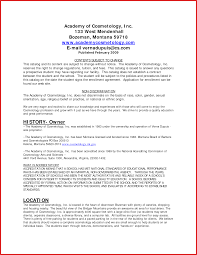 Cosmetologist Cover Letter Proyectoportal Com