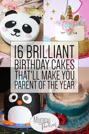 16 Brilliant Birthday Cakes For Kids Mommy Thrives