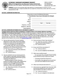 fed loan economic hardship deferment form fedloan servicing fax number fill online printable fillable
