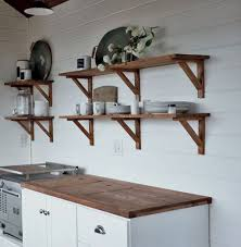 interior design fo open shelving kitchen. Farmhouse Open Shelves Kitchen Decor Ideas (82) Interior Design Fo Shelving