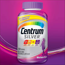 250 centrum silver women multivitamin multimineral vitamin 50 plus 250 tablets