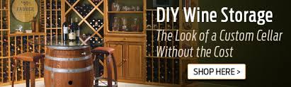 DIY Wine Storage The Look Of A Custom Cellar Without The Cost Shop Here
