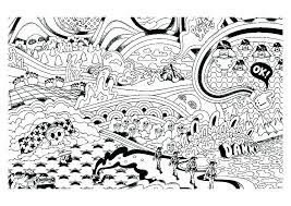 Alien Coloring Pages Online Printable Stoner As Psychedelic Print