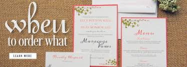 Wedding Timeline Adorable Timeline For Ordering Wedding Invitations And Stationery