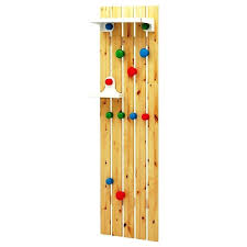 image of kids coat rack ikea wall
