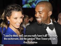 Kanye Love Quotes Unique Kim Kanye's Crazy In Love Quotes PEOPLE