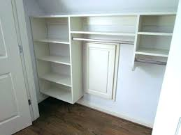 wall mounted closet organizer wall closet unique wall mount closet organizer le knee wall closet storage
