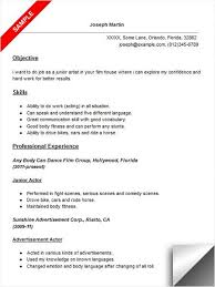 Example Of Resume Objective For Service Crew Sample Invoice Word Doc  MyPerfectResume com Big Crew Member