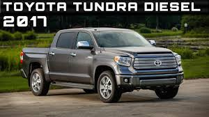 2017 Toyota Tundra Diesel Review Rendered Price Specs Release Date ...