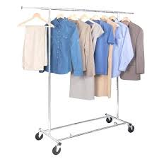 Portable And Expandable Garment Rack In Black Chrome 18 Months Adorable Portable And Expandable Garment Rack In Black Chrome 32 Months
