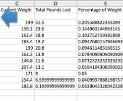 Weight Loss Percentage Spreadsheet Excel Weight Loss Tracker 56486428063 Weight Loss Spreadsheet