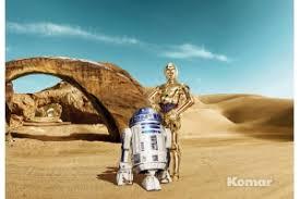 <b>Фотообои</b> Komar 8-484 <b>STAR WARS</b> Lost Droids. Интернет ...