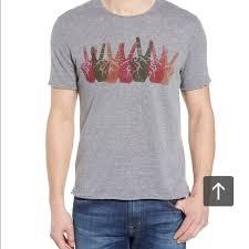 Men's Clothing <b>John Varvatos Star USA</b> Men's Short Sleeve Peace ...