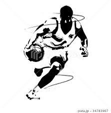 バスケットボールのイラスト素材 34783907 Pixta