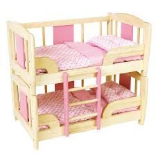 home interior successful doll bunk beds bed for twin dolls fits 18 inch furniture
