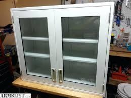 glass door wall cabinet ikea mount leksvik uk