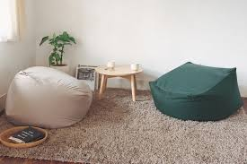these muji body fit cushions offer a cushier alternative to beanbags beanbags sphere chairs furniture dorm