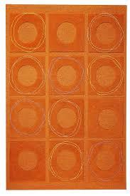 orange area rug. MAT Orange Circa Area Rug Rust Regarding Idea 3 A
