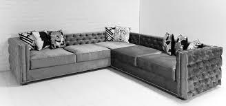 gray velvet sectional.  Sectional Elegant Grey Velvet Sectional Sofa 27 For Your Table Ideas With  Regarding Awesome Residence Gray N