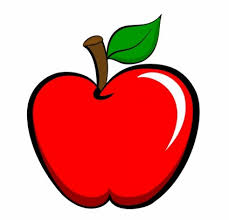 apple fruit clip art. free cartoon fruit clipart vector download files for apple clip art