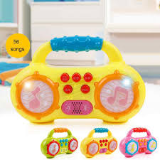 Rhyming musical instruments and terms. Children Mini Multifunction Radio Music Poetry Instruments Story Led Light Baby Playing Educational Developing Kids Toy Gift Aliexpress